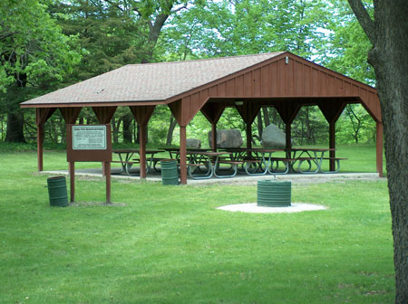 Ramsey Park Shelters Redwood Area Community Center
