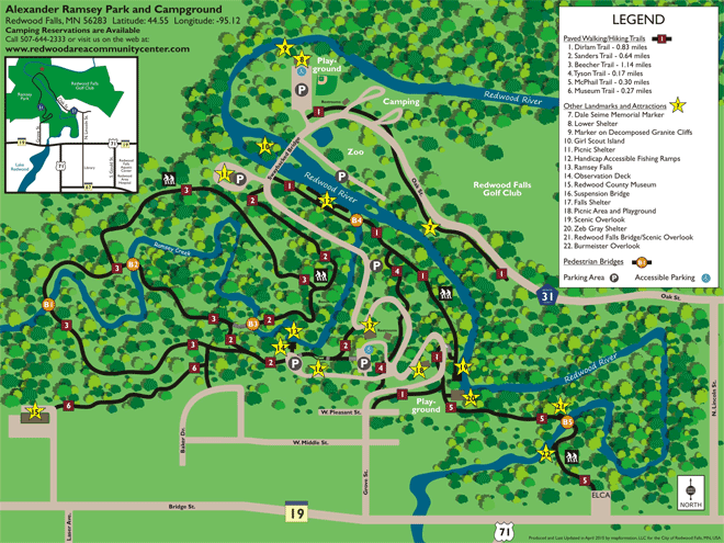 Ramsey Park Guide Amp Directions Redwood Area Community Center